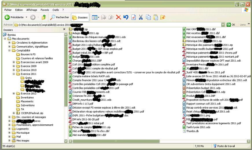 Organisez vos fichiers proprement dans le disque dur - Classement des dossiers dans un bureau ...